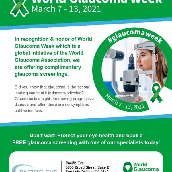 Free Glaucoma Screenings