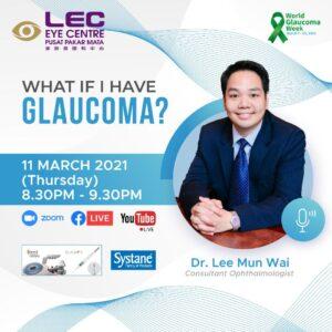 World Glaucoma Week Webinar - 'What If I have Glaucoma?'